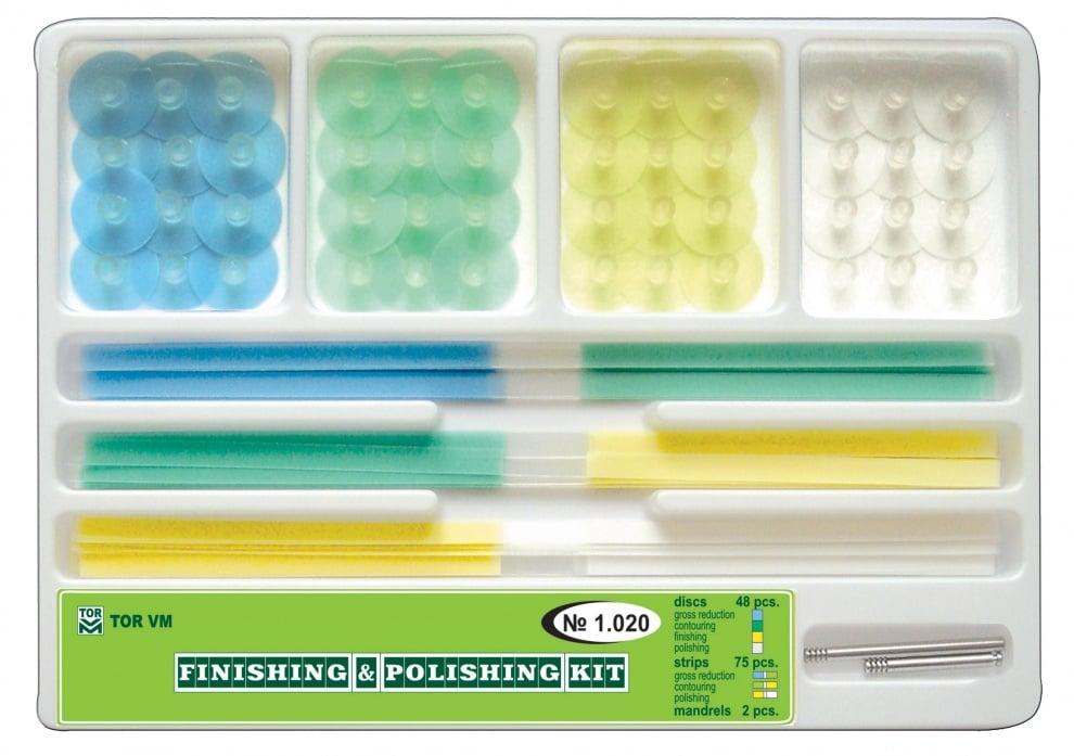 Комплект полирни дискове и ленти Кат.N: 1.020