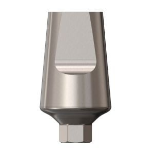 Wide Straight Abutment